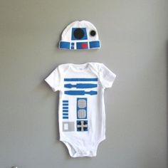 R2-D2 from Star Wars / 36 Onesies For The Coolest Baby You Know (via BuzzFeed)