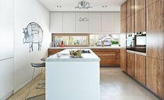 Nowoczesny 2 - wizualizacja 5 - Nowoczesne projekty domów