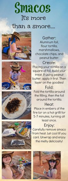 Family Camping Tips and Tricks + Our Favorite Campfire Treat. Camping is one of my family's favorite vacations. We love being able to get away from home. Learn how to make our favorite camping treat - Smacos!