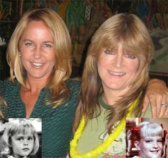 Tabitha (Bewitched) and Cindy (Brady Bunch) grown up. Celebrities Then And Now, Young Celebrities, Celebs, Agnes Moorehead, 80 Tv Shows, Old Shows, Elizabeth Montgomery, Celebrity Couples, Celebrity Pictures