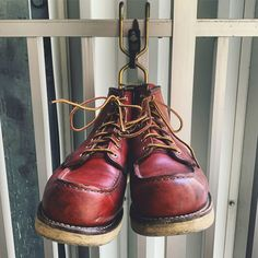 Fashion Boots, Mens Fashion, Red Wing Boots, Rugged Style, Combat Boots, Wing Shoes, Leather, How To Wear, Style Ideas