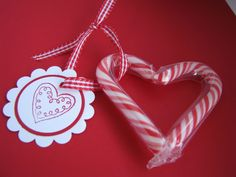 Just stocked up on cheap candy canes to make these for V-day