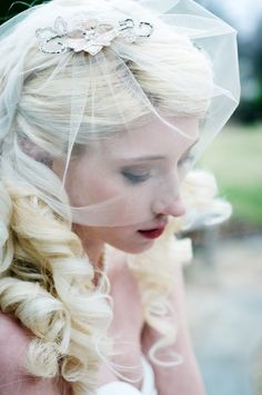 Seraphine Birdcage Veil, $85.00 at Cargoh (sold by TruLu Couture).