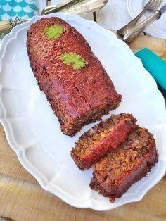 No meat loaf vegan meatloaf organic in my bento Haricot Azuki, Bento, Vegan Meatloaf, Plat Vegan, Xmas Food, Plant Based Diet, Going Vegan, Gluten, Vegetarian Recipes