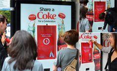 Coca-Cola DOOH Campaign Shares More Than A Coke.