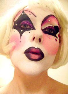 Bec Manson Monroe #circus #makeup #cirque #clown