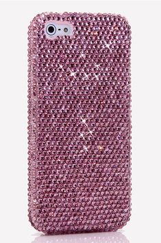 New Cute Light Lavender Design iPhone 5 5s 5c cases Bling Awesome Style phone accessories for teens