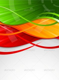 Abstract Colorful Background  #GraphicRiver         Used gradients, blends and transparency. Editable EPS10     Created: 5May13 GraphicsFilesIncluded: JPGImage #VectorEPS #AIIllustrator Layered: No MinimumAdobeCSVersion: CS Tags: banner #bright #card #color #concept #copy #cover #curve #design #digital #energy #flow #graphic #green #header #line #liquid #modern #motion #orange #pattern #poster #red #shape #style #texture #vector #wave #web #yellow
