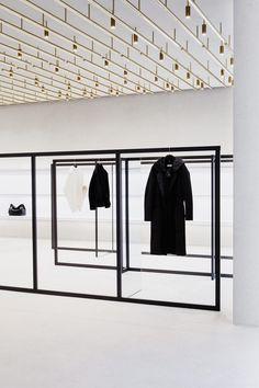 Jil Sander dévoile son nouveau concept de magasin à Berlin - Actualité…