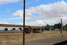 Vagón en vías ferroviarias de la Estación de Victoria. Febrero 2014.