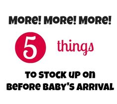 5 Baby Supplies I Wish I'd Gotten More of Before Baby Arrived | Disney Baby