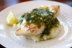 Halibut with Pistachio Pesto - Alaska from ScratchAlaska from Scratch
