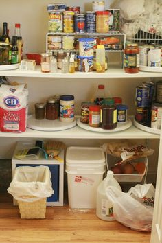 kitchen pantry organization