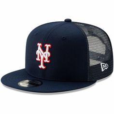 ccd2c638f Men's New York Mets New Era Navy Americana Trucker 9FIFTY Snapback Hat,  Your Price: $28.99