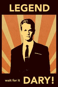 How I Met Your Mother Poster: Barney Stinson by DJonesPosters