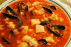 Feast of the Seven Fishes, Dish Two:  Seafood Stew