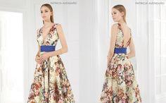 Espectacular vestido de Patricia Avendaño. ¡¡AHORA REBAJADO!! Luce como nadie en alta costura al precio de pret-a-porter.