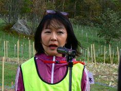 ≪Present Tree in 宮古≫ 第2回植樹イベント_20131013 鈴木敦子より開会の挨拶です。
