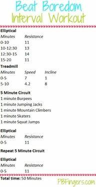 HITT Treadmill Workout