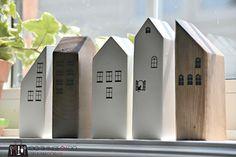 Scrap wood houses 4 - 5
