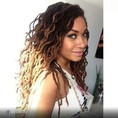 I love this!  i hope my dreads turn out this beautiful!