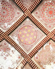ceiling in the alcazaba malaga - Tour of Andalucia Spain: 6 Must Visit Cities in Andalucia Spain. It's full of rolling mountains, valleys, beautiful coastline, and national parks. It's a must visit if you head toSpain! This post will share how to have the perfect tour of Andalucia at your own pace.. It's full of historic cities, charming villages, and beautiful nature. I spent almost a month visiting this region - #andalucia #spaintravel