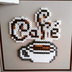 Coffee time hama beads by Lay_Bel