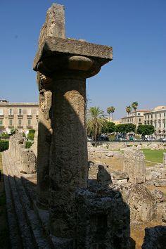 Temple of Apollo - Siracusa, Sicily, Italy
