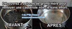 Pas besoin de vous acharner à gratter le fond de cette casserole pendant des heures ! Voici les 3 ingrédients miracles à utiliser pour faire disparaître le noir d'une casserole. Découvrez l'astuce ici : http://www.comment-economiser.fr/astuce-pour-nettoyer-casserole-nircie.html?utm_content=buffera358c&utm_medium=social&utm_source=pinterest.com&utm_campaign=buffer
