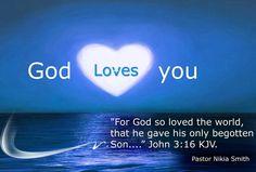 God Loves You  John 3:16