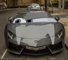 Lamborghini Pixar Style Double tap if this car should've been the movie star…