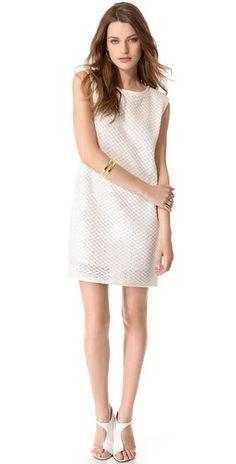 Tibi Crochet Easy Dress