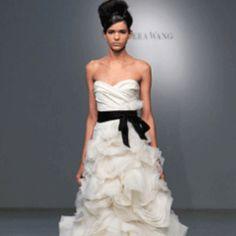 Vera Wang wedding dress!