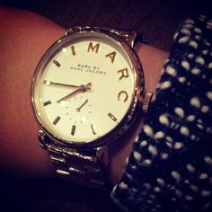 Marc by Marc Jacobs Baker Watch via naomivictoria