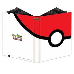 Pokemon - Pokeball Ultra Pro 9 Pocket Full View Binder - ZiNG Pop Culture