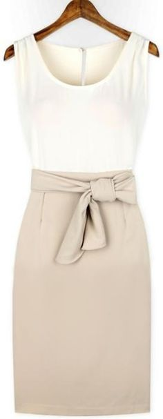 With some white platforms, and a black blazer and necklace. Then do a smoky eye with a top knot! So cute!