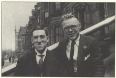 H. P. Lovecraft smiling!