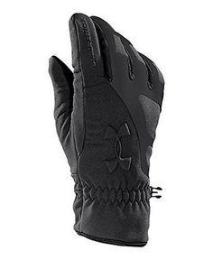 Under Armour Men's UA ColdGear® Infrared Storm Stealth Gloves Extra Large  Black