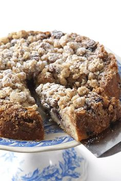 Gluten-Free Blueberry Coffeecake Recipe