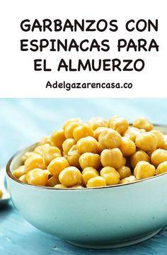 5 recetas de almuerzos para adelgazar - Adelgazar en casa Cantaloupe, Fruit, Vegetables, Breakfast, Food, Collars, Gastronomia, Frases, Home