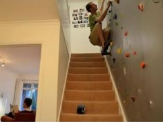 this is how I want to get upstairs in my house