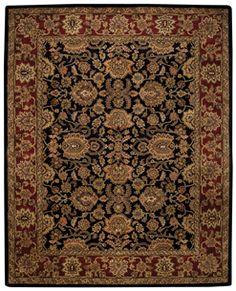 Regal Persian Black Runner Rug