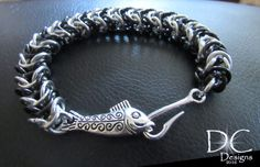 Check out this item in my Etsy shop https://www.etsy.com/listing/485919127/fish-hook-bracelet-fishing-bracelet