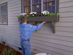 How to Build a Window Box Planter : How-To : DIY Network