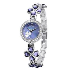 Lucky Clover Crystal Strap Clover Bracelet