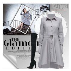 """LATTORI.com"" by monmondefou ❤ liked on Polyvore featuring moda, Lattori, Alaïa y lattori"