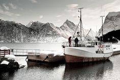 Sagafjord Hotel Ski and Sail Winter Norway Fjords Fishing Boat