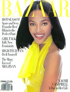 Bazaar June 1994 - Naomi Campbell