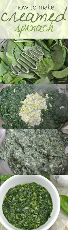 Looking for a low carb side dish? Look no further because this creamed spinach recipe is a healthy and easy choice!
