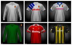 Camisetas del Real Zaragoza